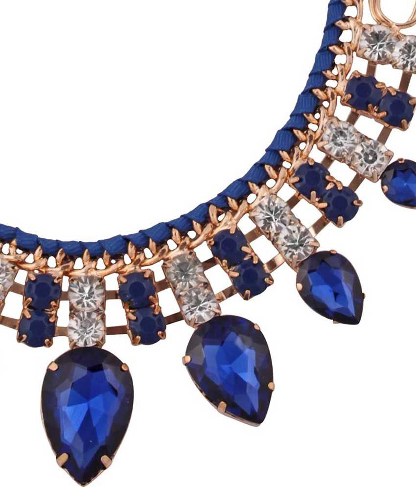 37a3a70a3 Abrazo Blue Costume Jewellery - Buy Abrazo Blue Costume Jewellery ...