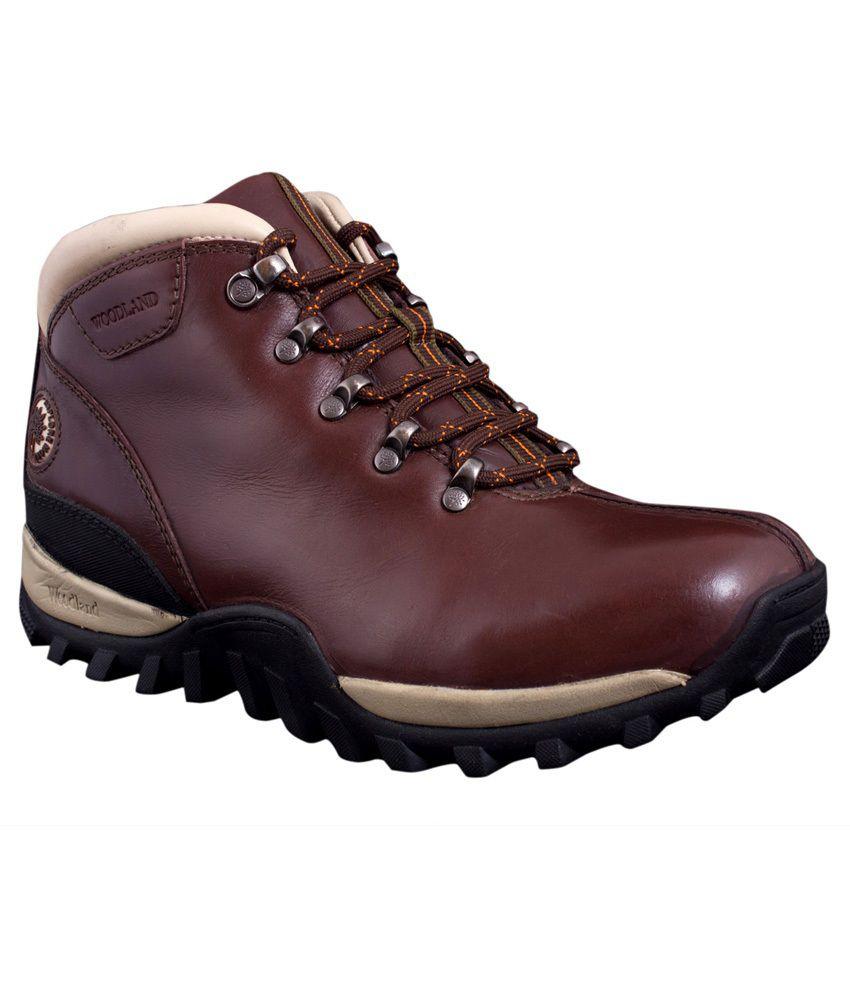 Woodland Maroon  Boots