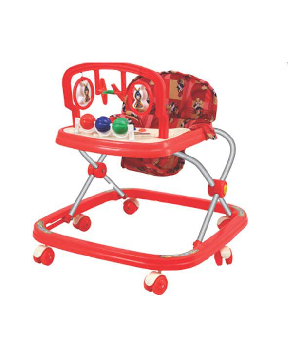 Dash Red Baby Walker Classic Horn