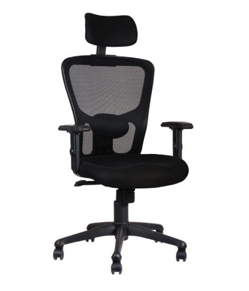 golden jazz high back chair with head rest and adjustable arms buy rh snapdeal com