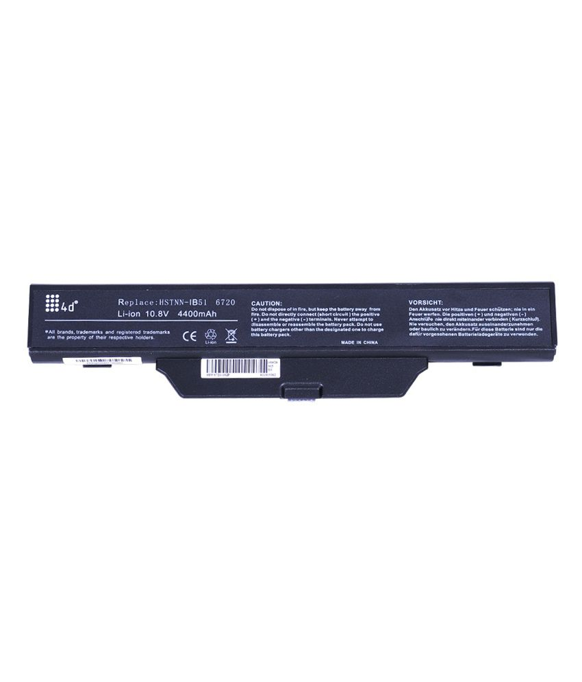 4D HP HSTNN-I62C 6 Cell Laptop Battery