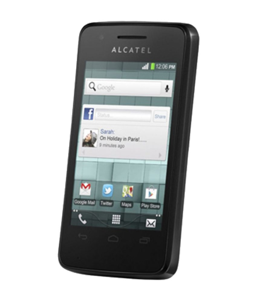 Alcatel One Touch T'Pop 4010D Black