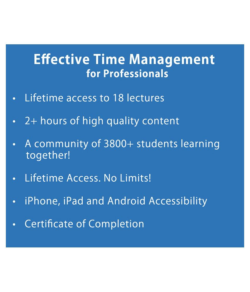 Effective Events Management E Certificate Course Concept Of