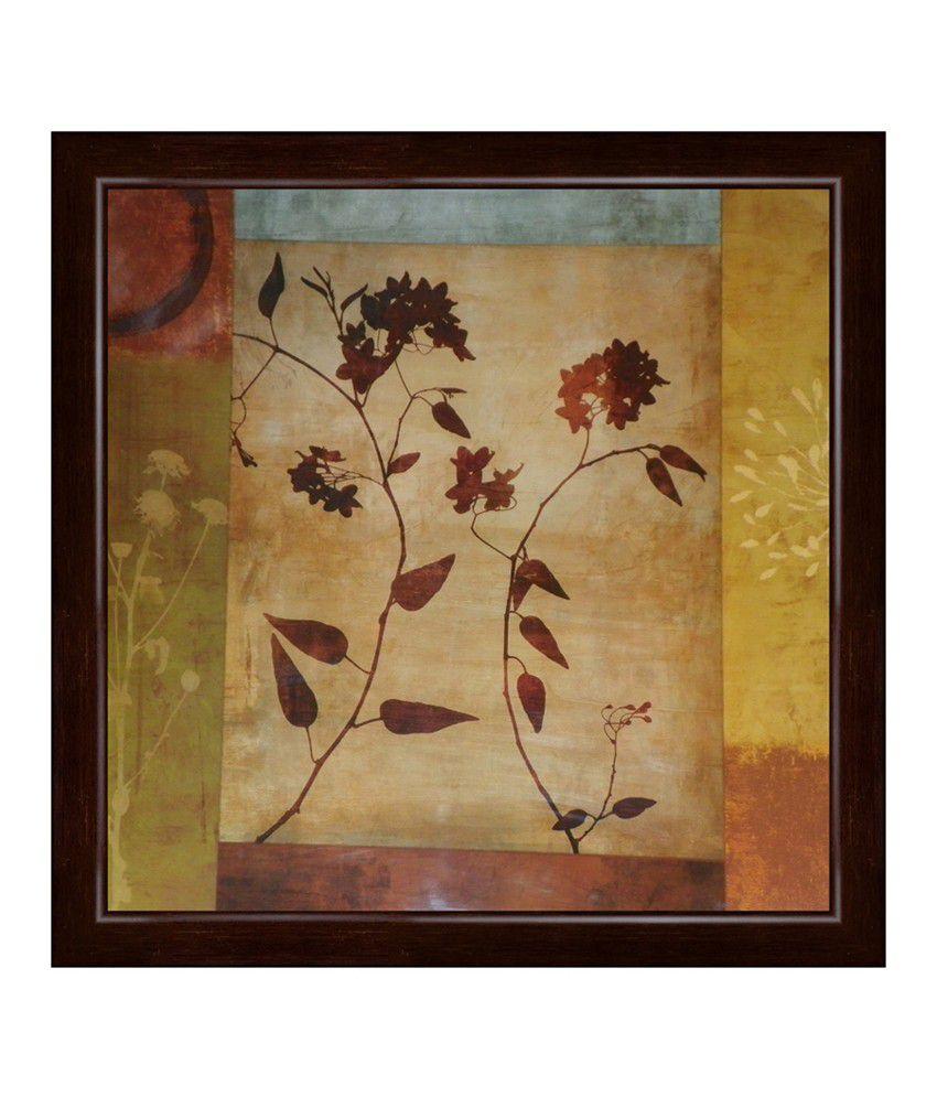 Elegant Arts & Frames Contemporary Multi-Colour Framed Art Print