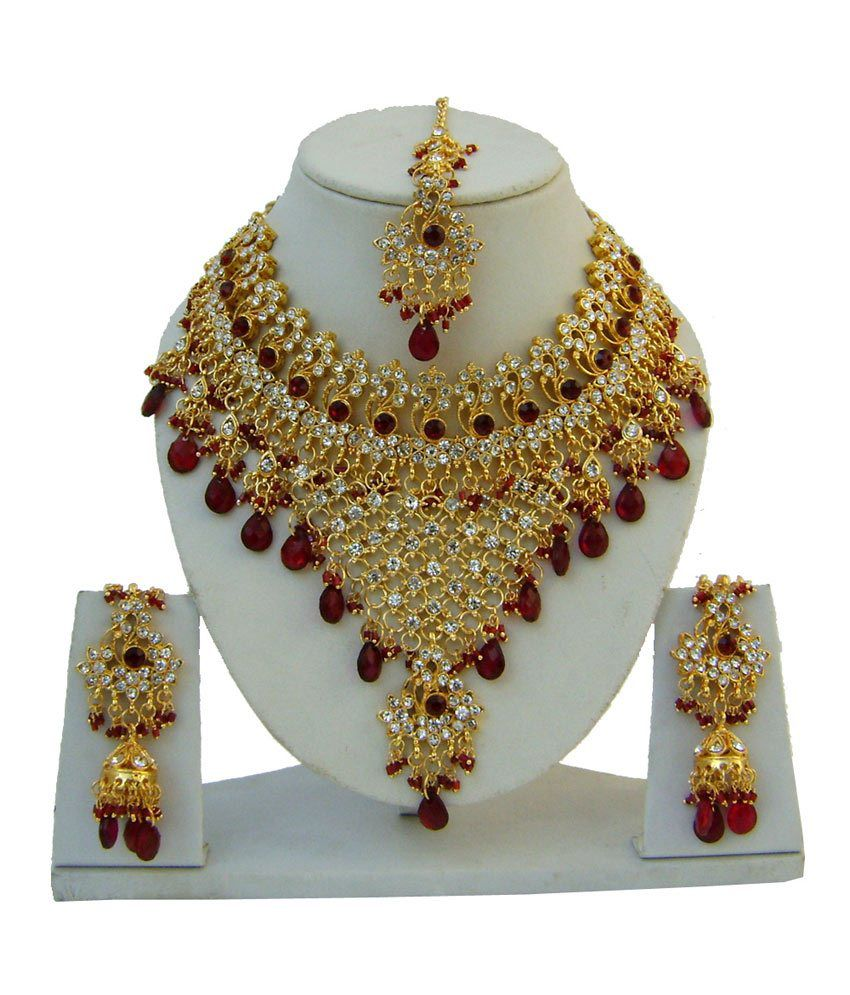 narbh india inc hand made designer jewelery necklace set