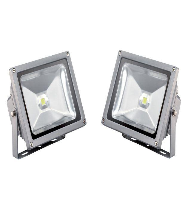 RUCHI LED Lightings 50watt Led Flood Light - Set Of 2