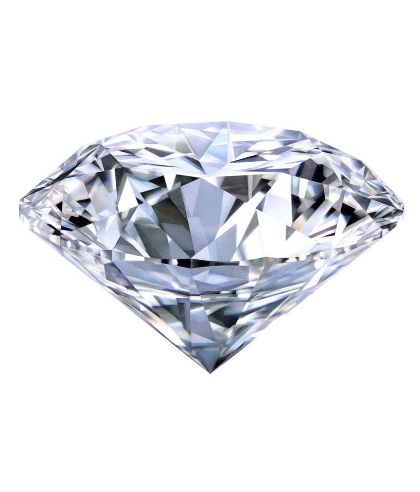 White Carbon Jewellery Certified Natural Diamond - Vvs1 / F