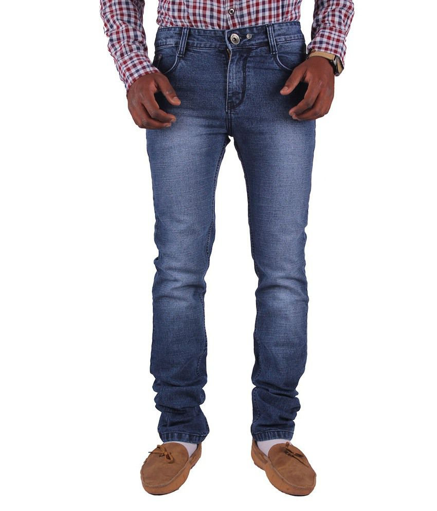 Gasconade Dynamic Blue Slim Fitted Jeans