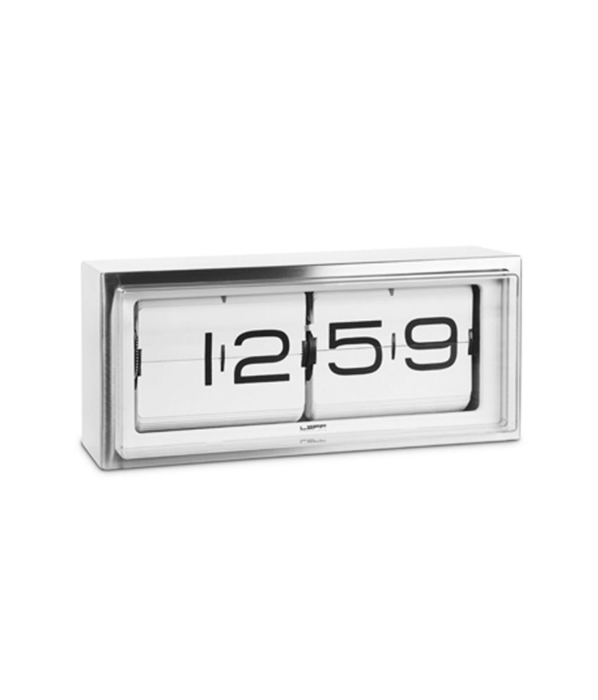 Leff White Digital Wall Clocks Buy Leff White Digital