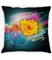 Amore Abstract Design Cushion Cover