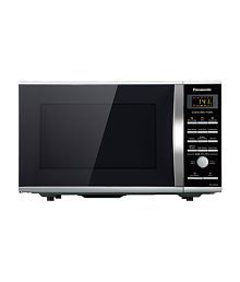 Panasonic 27 Litres NN-CD674M Convection Microwave OvenBlack and Silver