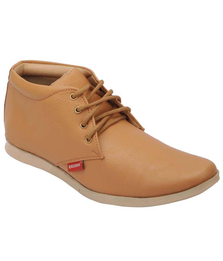 Bachini Tan Boots
