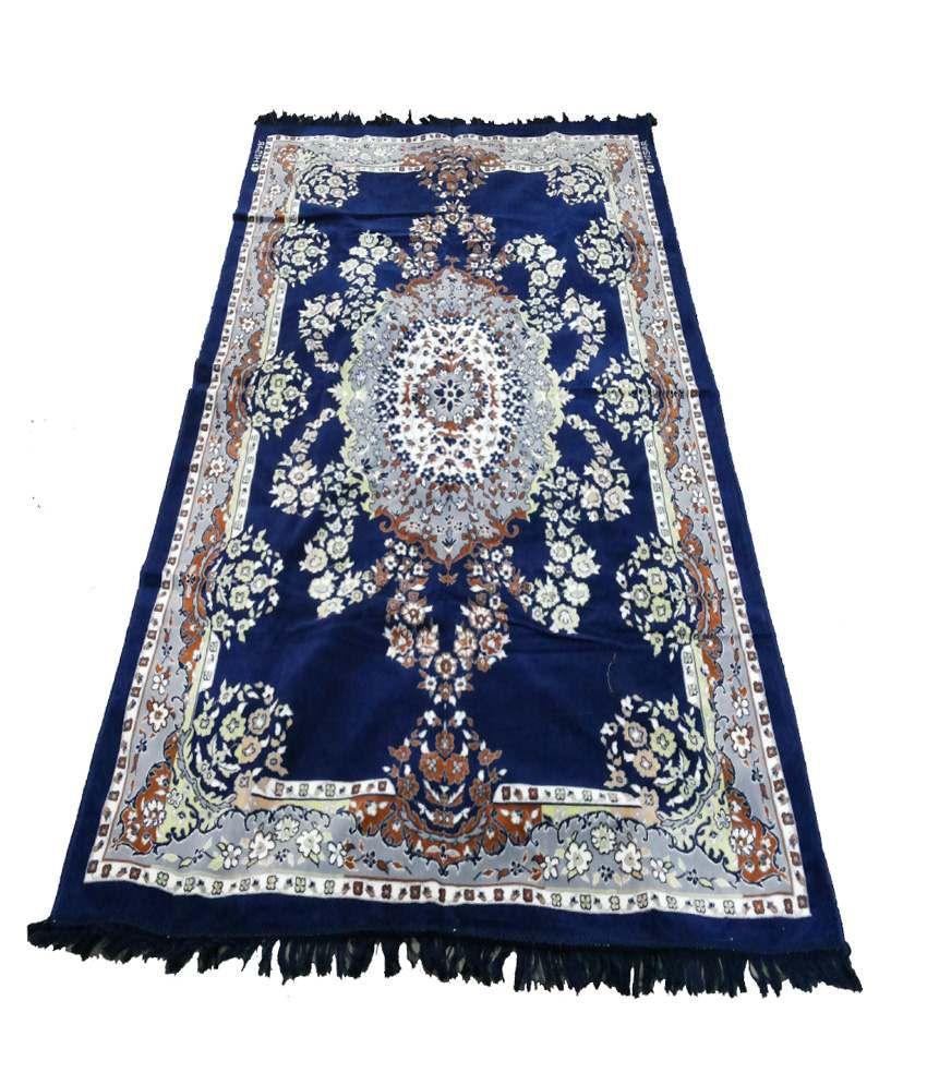 Shc Blue Synthetic Carpet Buy Shc Blue Synthetic Carpet