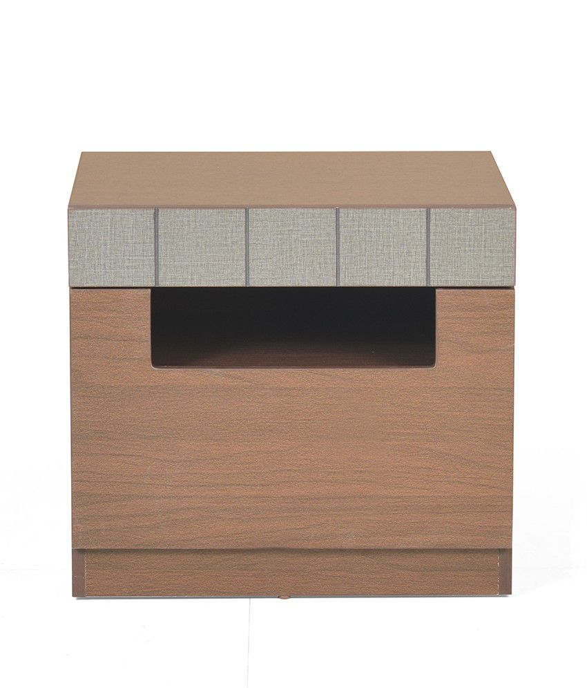 Shepherd Night Stand Drawer - @home Nilkamal,  walnut