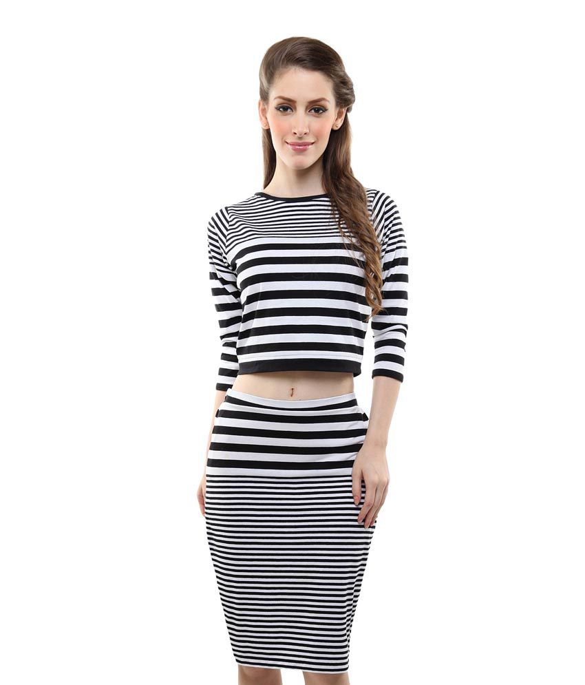 Black And White Pencil Skirt Dress - Latest and Best Model Skirt 2017