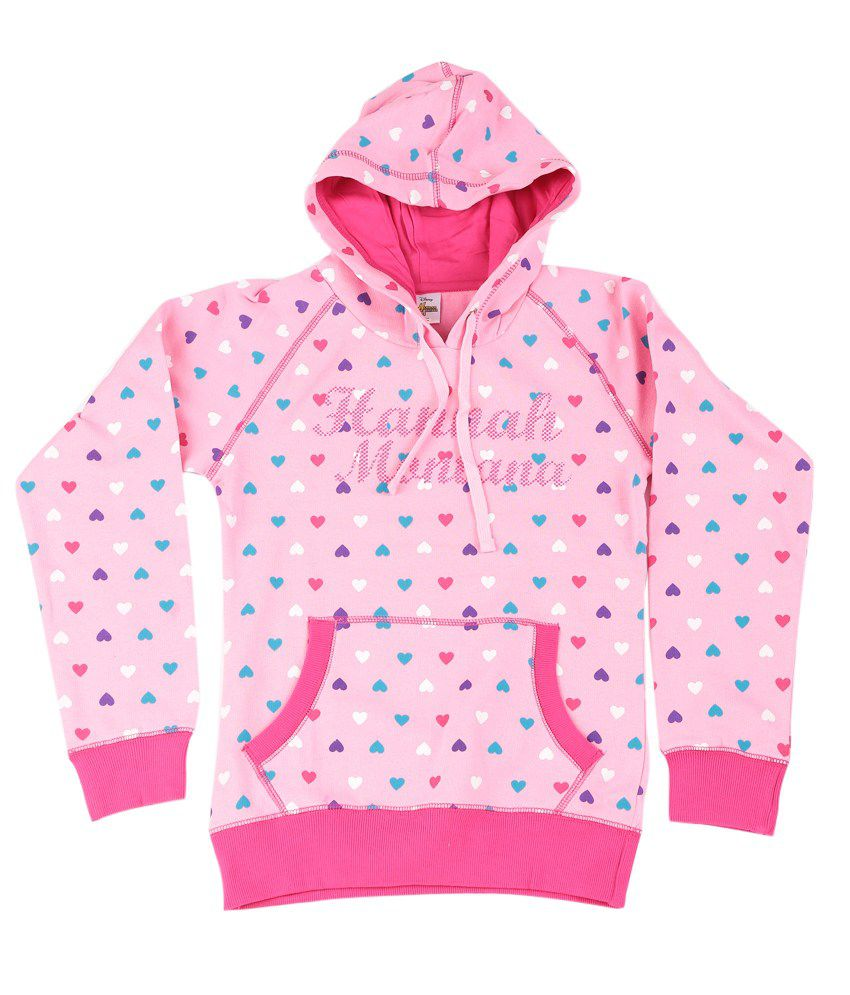 Disney LightPink Graphic Cotton Sweatshirt