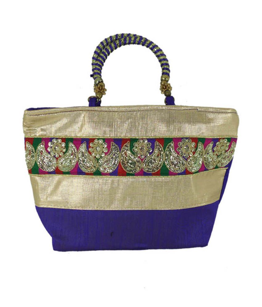 Goldencollections Gc0464 Purple Tote Bags