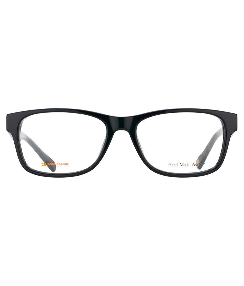 31e78817c1 BOSS ORANGE BO 0084 6EC Black Eyeglasses - Buy BOSS ORANGE BO 0084 ...