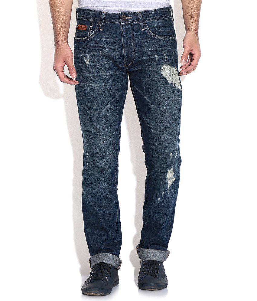 Jack & Jones Blue Regular Jeans