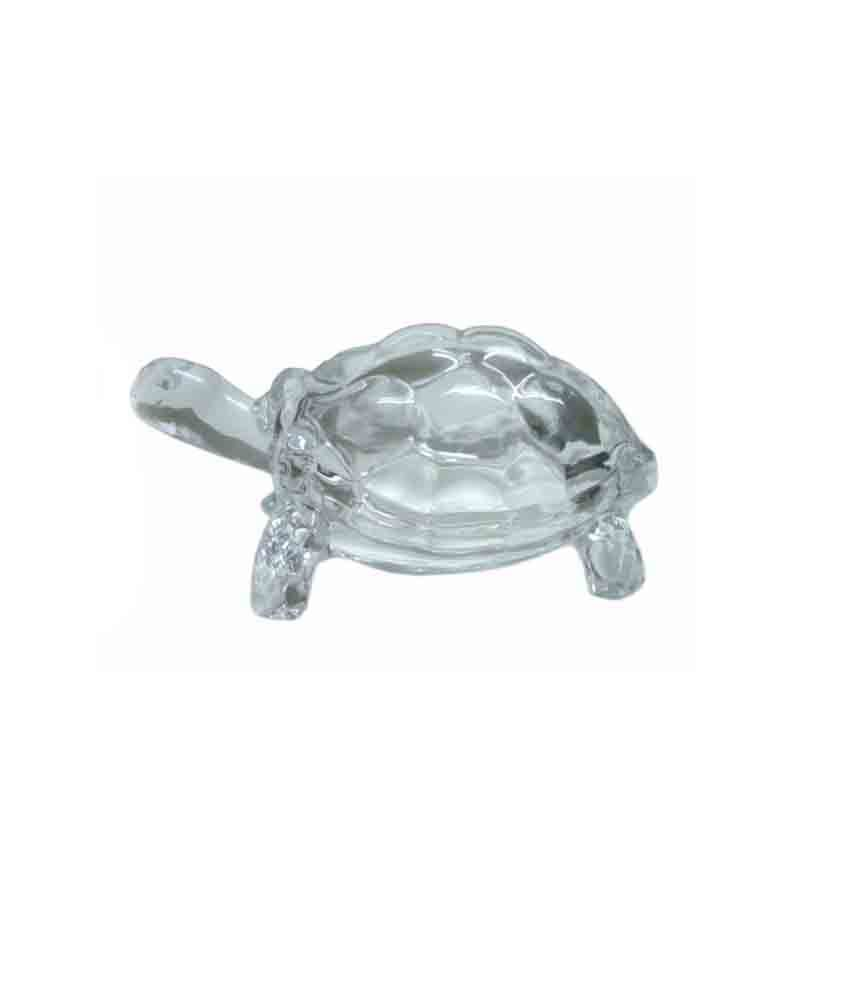 odishabazaar 65 inch clear crystal large tortoise turtle for feng shui vaastu for shining your luck acoustics feng shui