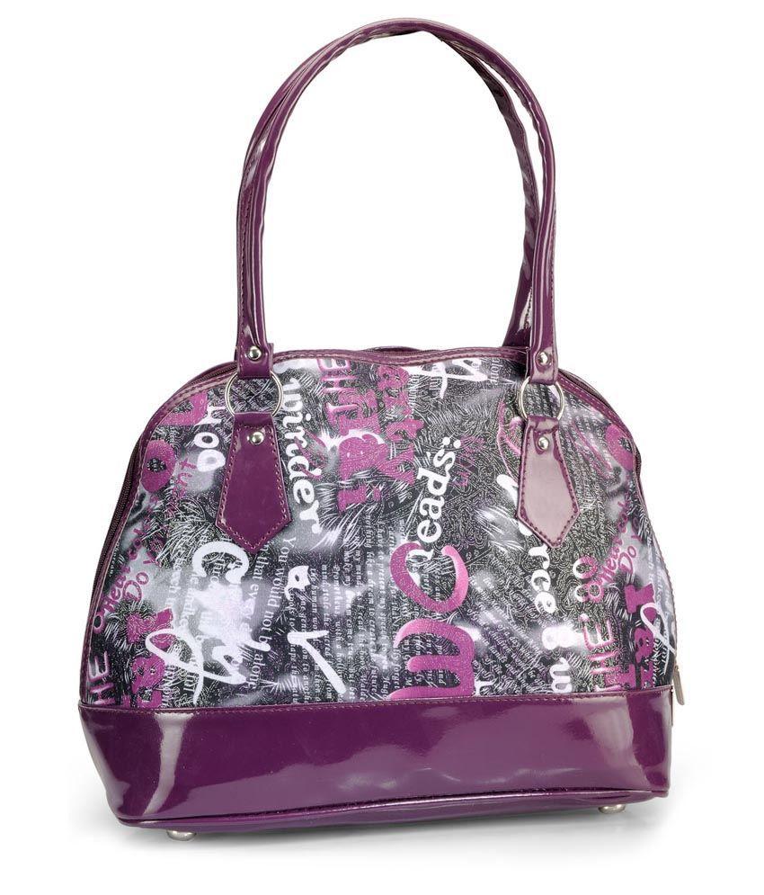 Bag Craze Purple P.u. Shoulder Bag