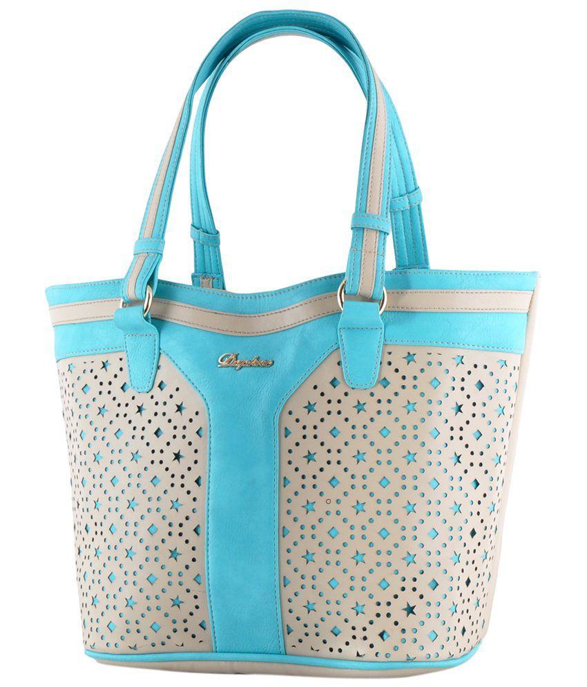 Daphne Db14-0034bl Blue Satchel Bags