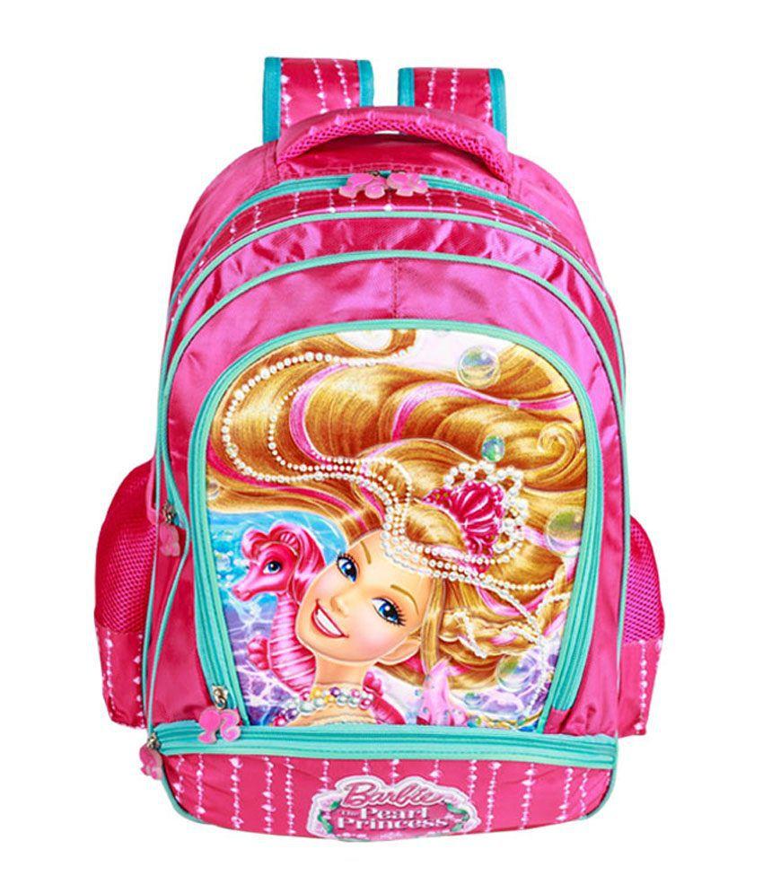 Barbie Mermaid Princess School Bag 14 Inch Buy Online At