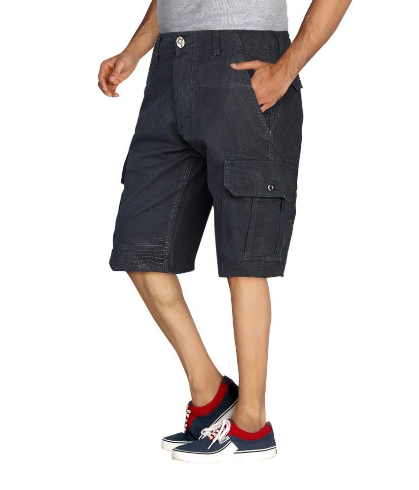 London Bee Men's Cargo Shorts - Buy London Bee Men's Cargo Shorts ...