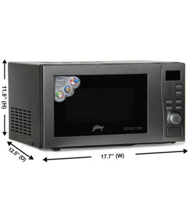 Godrej 20 Ltr Gmx 20ca5 Mlz Convection Microwave Oven