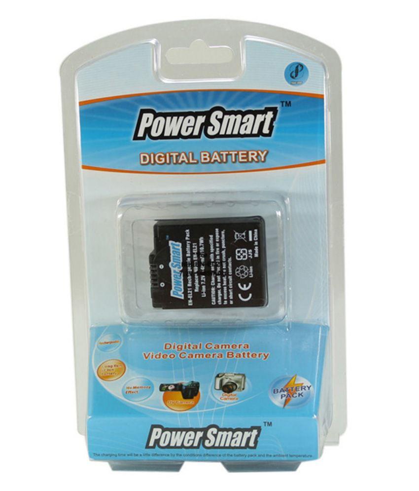 Power Smart 1485mah Replacement For Nikon En-el21 - Black