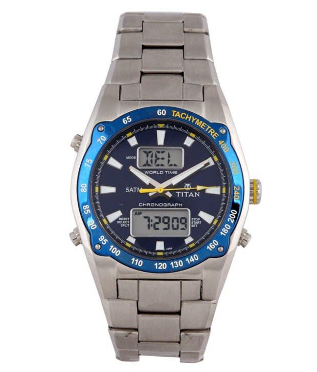 Titan 9232QM05  Digital Watch For Men