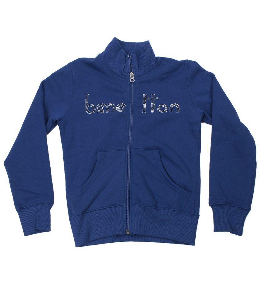 United Colors Of Benetton Navy Sweatshirt