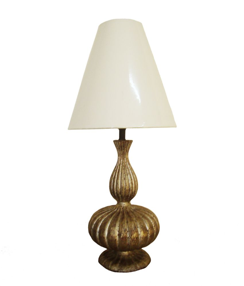 Foyer Table Lamps : Foyer silver glass floor lamp best price in india on th