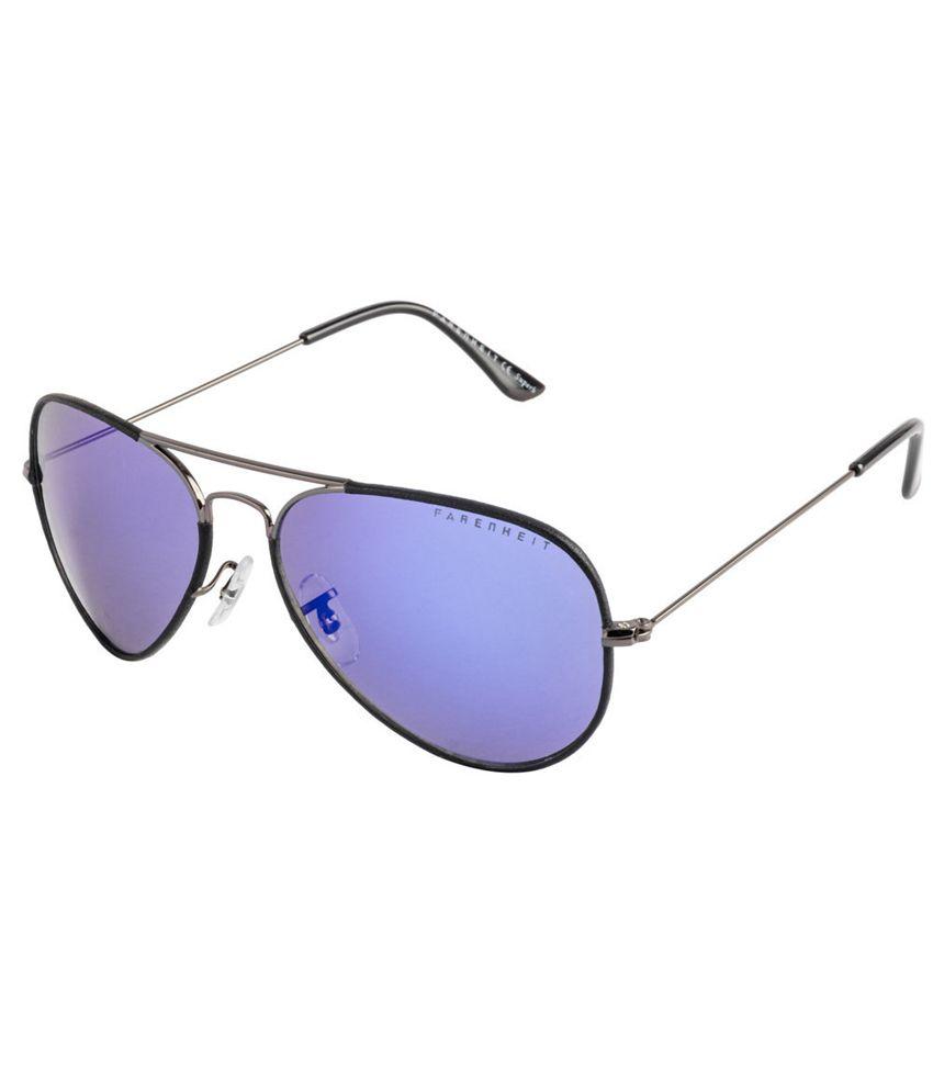 Farenheit SOI-FA-1106-C1 Black/Gray Aviator Sunglasses