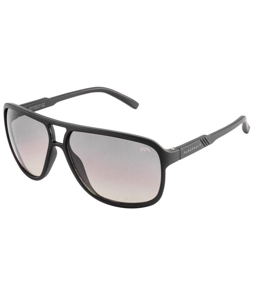 Farenheit SOI-FA-978-C2 Black/Gray Aviator Sunglasses