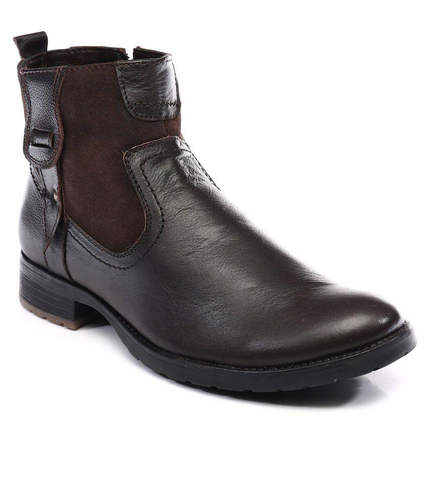 Numero Uno Brown Boots