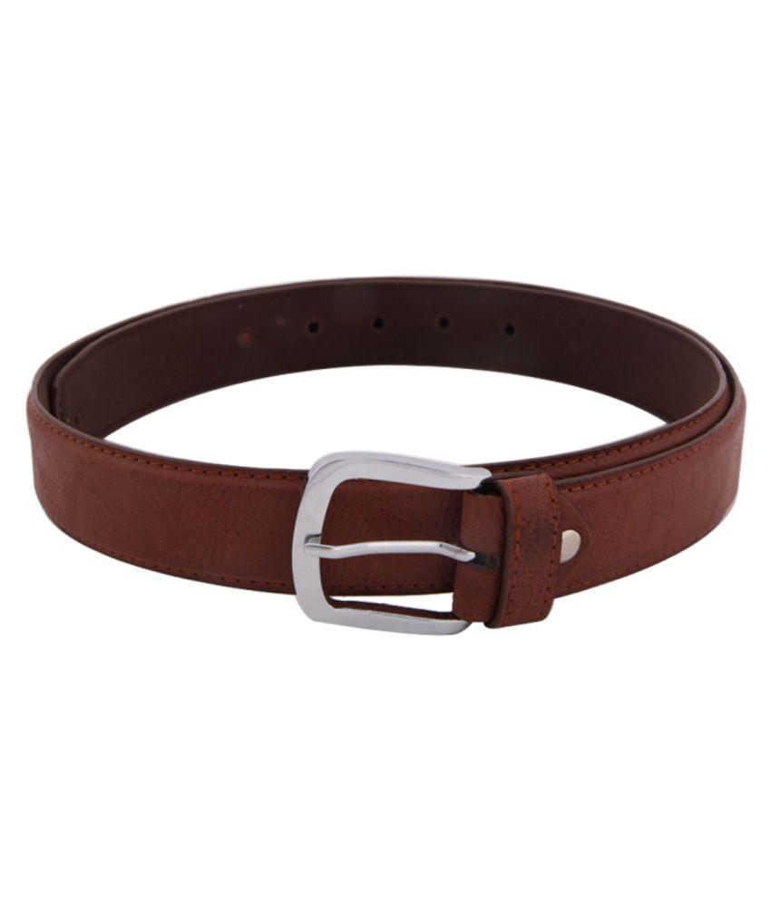 Skyways Brown Non Leather Men Belt