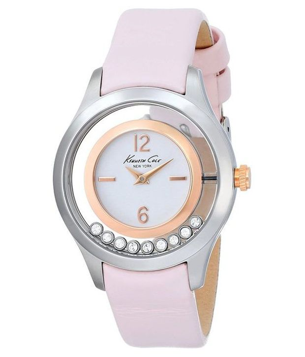 Kenneth Cole Kenneth Cole Pink Analog Watch