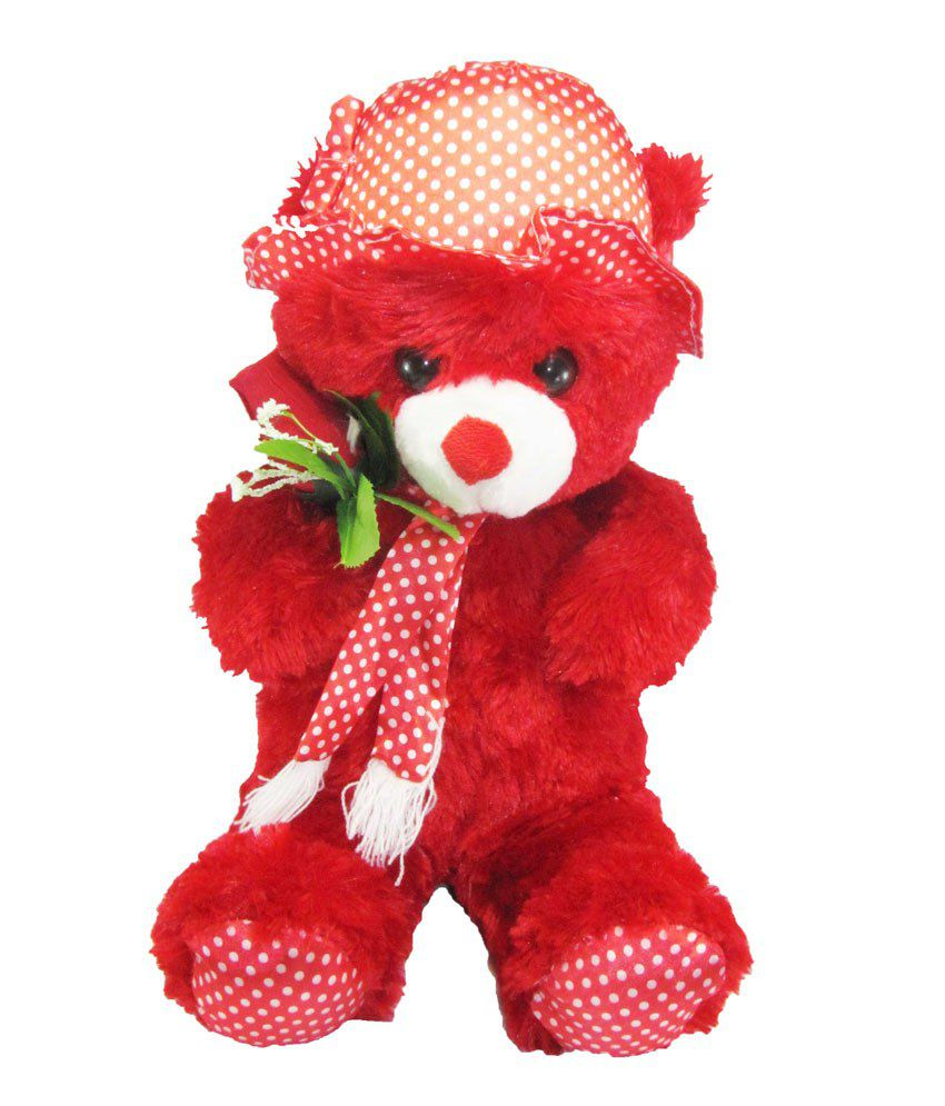 Tickles Flower Teddy Bear
