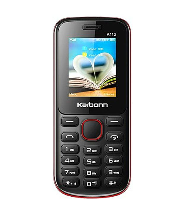 Karbonn K112 Star Black Mobile Phone