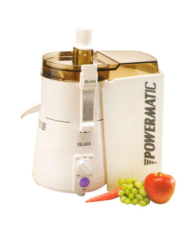 Sujata Powermatic Juicer Juicer White