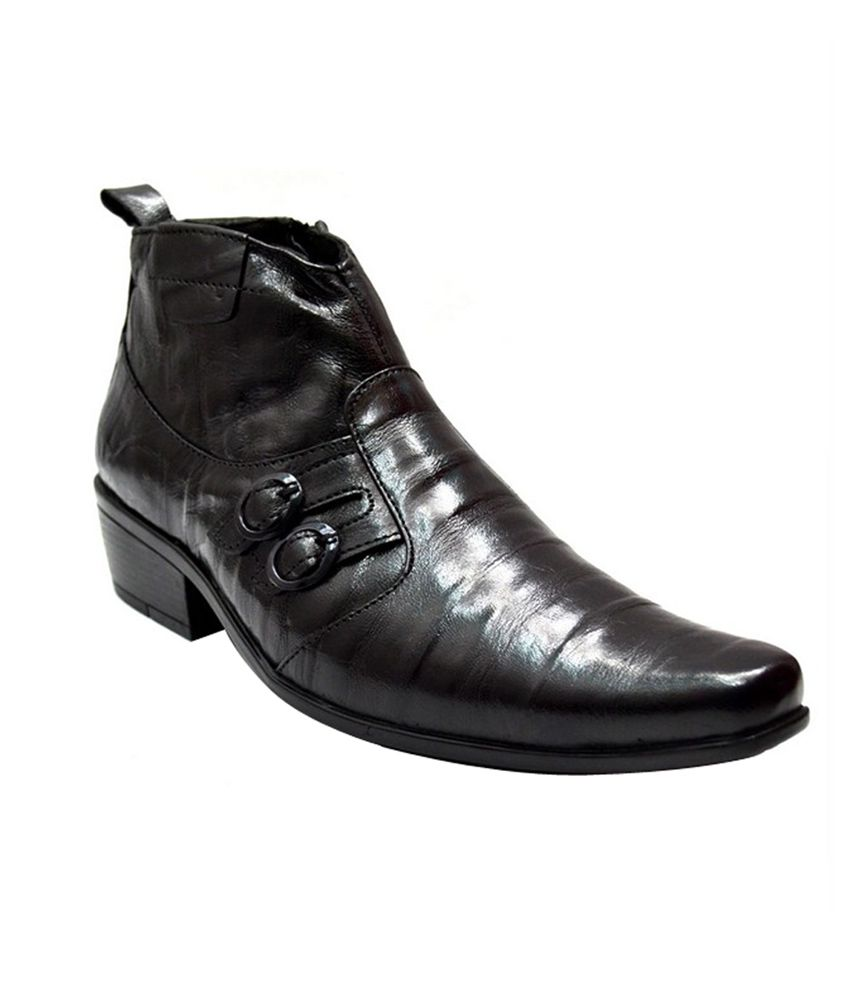 Zoot24 Bambol Black Designer Boots