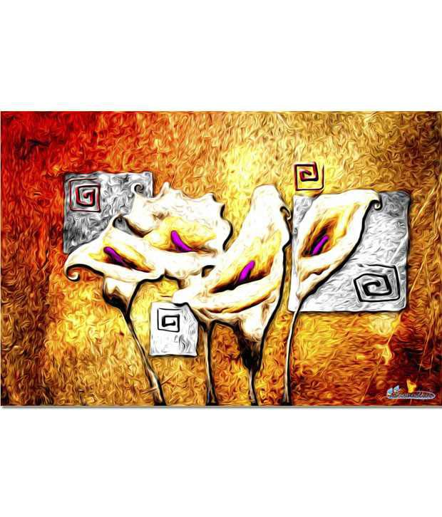 Anwesha's Gallery Wrapped Digitally Printed Canvas Wall Painting 30x20 Inch - 123
