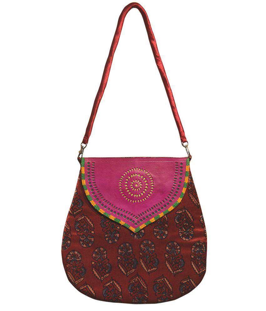 Hand Of God Handpainted Bag
