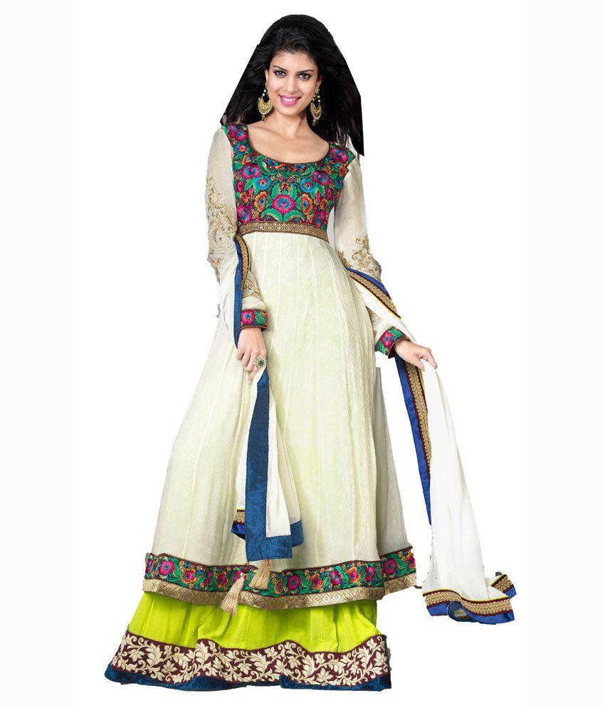 Swagat Multi Pure Georgette Salwar Suit