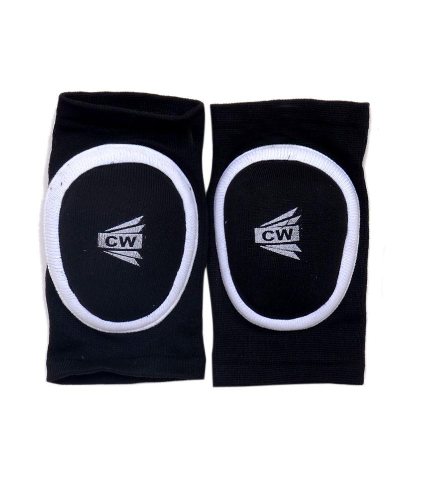 Cw Speed Oval Shape Padded Knee Cap