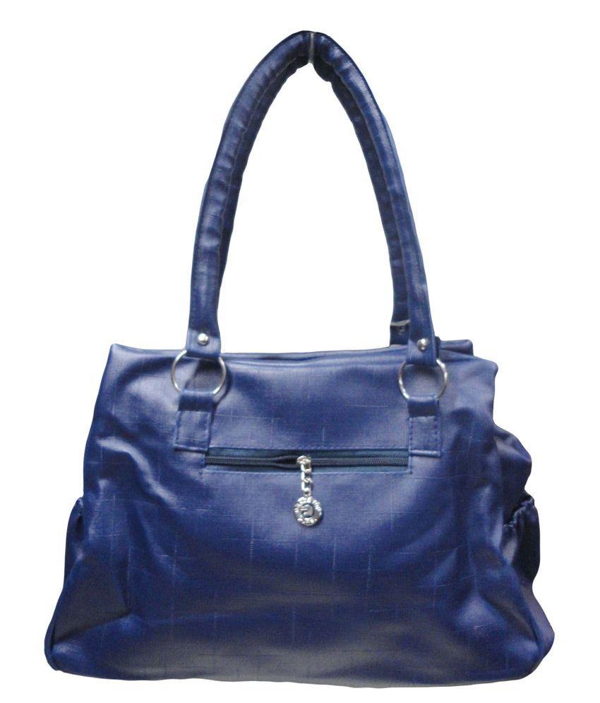 Kreative Navy Shoulder Bag