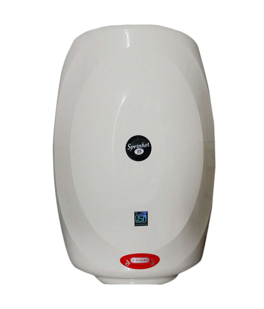 V-Guard Sprinhot 35 Litres Storage Water Geyser