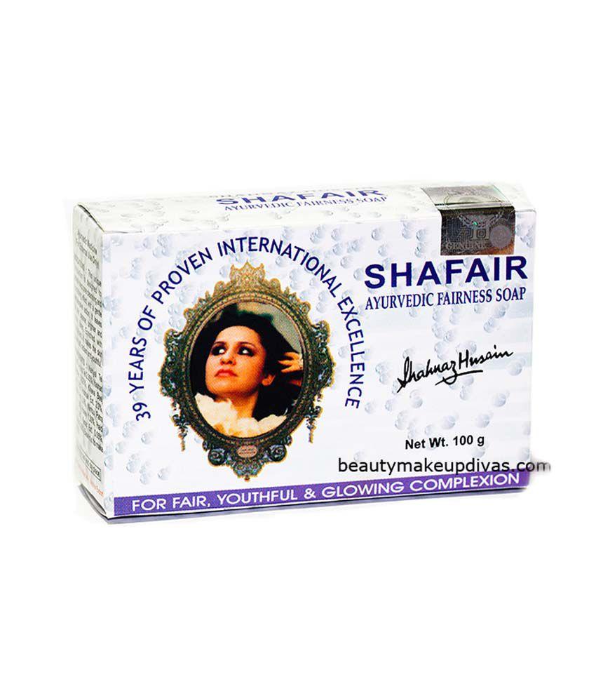 Shahnaz Husain Shafair Ayurvedic Fairness Soap