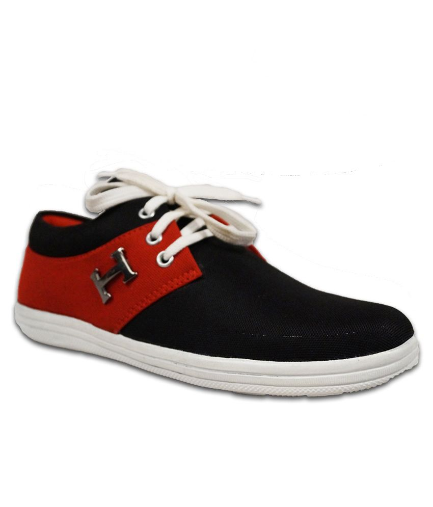 Austrich Red Sneaker Shoes